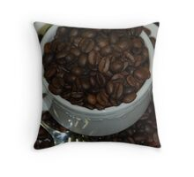 'Coffee cup' Throw Pillow