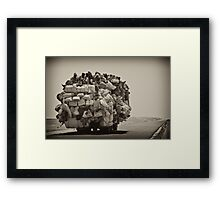 The Journey Continues Framed Print