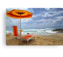 Belvedere  - Golden Beach  Canvas Print