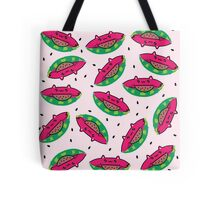 Watermelon Cat Tote Bag