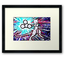 Mewtwo   Psystrike Framed Print