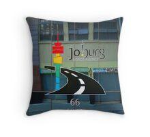 Deserted Streets of Joburg Throw Pillow