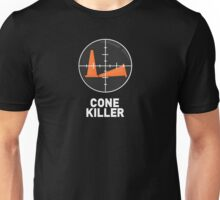 Autocross - Cone Killer (dark background) Unisex T-Shirt