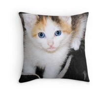 Who, Me? Throw Pillow