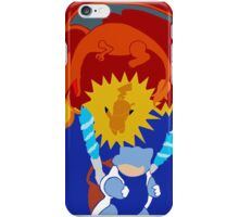 Red/Blue/Yellow iPhone Case/Skin