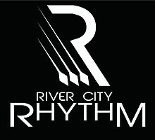 River City Rhythm Products - White on Black logo by RiverCityRhythm