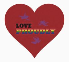 Love Proudly by Scott Mitchell