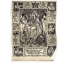 Spenser's Faerie queene A poem in six books with the fragment Mutabilitie Ed by Thomas J Wise, pictured by Walter Crane 1895 V1 169 - To Sinful House of Prude Poster
