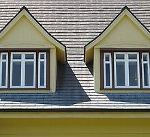 Whalehead Windows by Monnie Ryan
