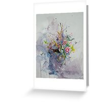Tranquil faces Greeting Card