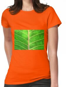 GREEN Womens Fitted T-Shirt