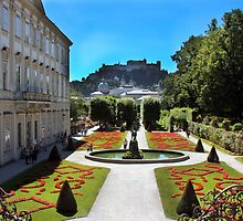 Mirabell Palace and Gardens by Paula Bielnicka