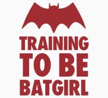 Training To Be BatGirl Kids Tee