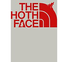 The Hoth Face - The North Face Photographic Print