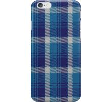 00447 Bannockbane Light Blue Tartan  iPhone Case/Skin