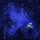 TARDIS Travelling in Time and Space by zerobriant