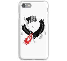FIRE BREATHING BALD EAGLE OF PATRIOTISM iPhone Case/Skin