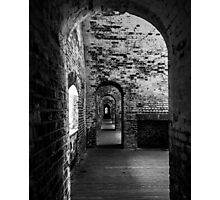 Inside Fort Macon, Emerald Isle, North Carolina Photographic Print