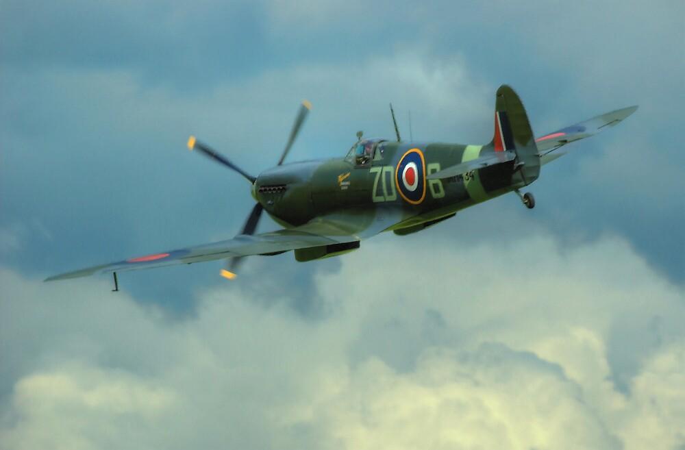 Spitfire In Flight by SimplyScene