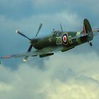 Spitfire In Flight by SimplyScene