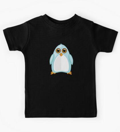 Baby Blue Penguin 2 Kids Tee
