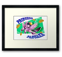 Princess Pancake Framed Print
