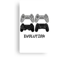 PS Evolution Canvas Print