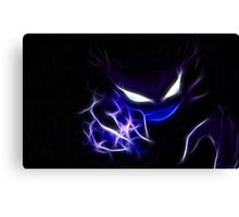 Haunter Cool Pokemon Canvas Print