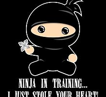 Lil Ninja in Training by lindsaysawesome