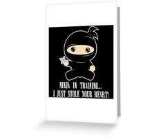 Lil Ninja in Training Greeting Card