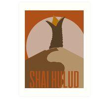Shai-Hulud Art Print