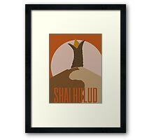 Shai-Hulud Framed Print