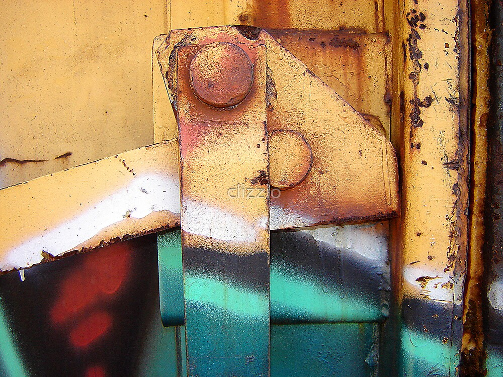 Train Car Abstract 1 by clizzio