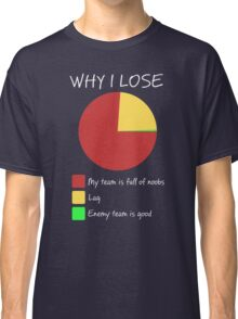 Why I Lose - Gaming Humor T Shirt Classic T-Shirt
