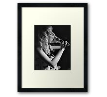 Lost in the song Framed Print