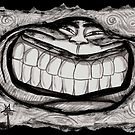 JUS GRIN BACKATUM by DALE CRUM