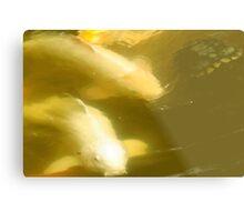 Larravide White Fish  Metal Print