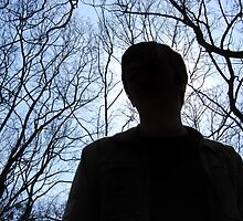man's silhouette by leylaa