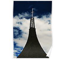 An Empty Cross Poster