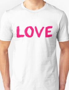 LOVE Painted Font T-Shirt