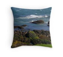 inter-tidal confessions Throw Pillow