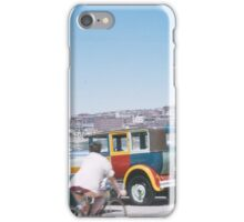 Cars at the Beach - 1950s iPhone Case/Skin