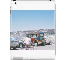 Cars at the Beach - 1950s iPad Case/Skin