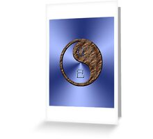 Libra & Snake Yin Earth Greeting Card