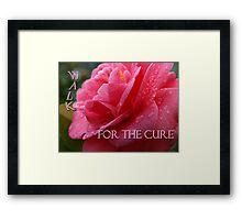 Pink Cure Framed Print