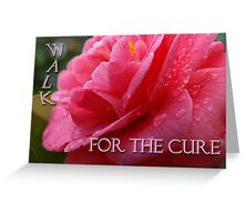 Pink Cure Greeting Card