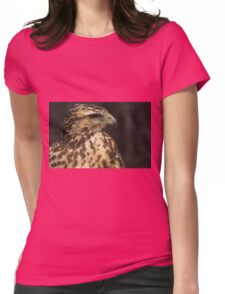 Juvenile Harris' Hawk Womens Fitted T-Shirt