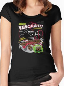 Venom Bites Women's Fitted Scoop T-Shirt