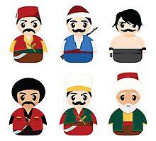 Ottoman Characters Photographic Print