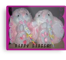 "'MAY YOU ALL HAVE A HAPPY EASTER"" Metal Print"